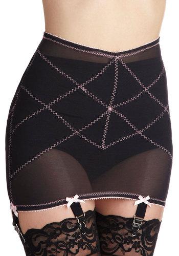 Smooths in Her Own Way Garter Skirt