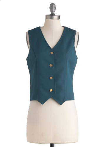 Vintage Chic of Staff Vest