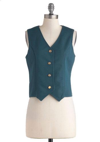 Vintage Chic of Staff Vest