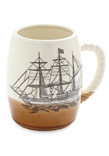 Vintage Tick Dock Mug