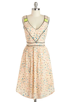 Confetti Western Dress