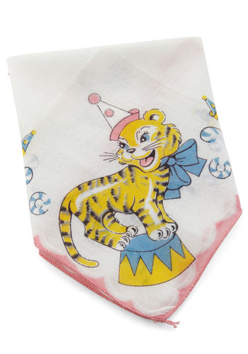 Vintage Make It Big Top Handkerchief