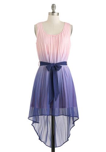 Luxe Larkspur Dress
