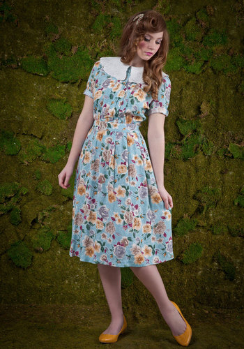 Vintage Bridge in the Garden Dress