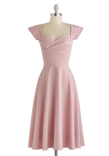 Pine All Mine Dress in Pink Plaid