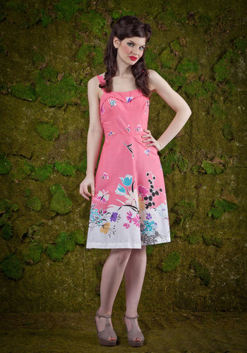 Vintage Parklet Party Dress