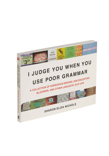I Judge You When You Use Poor Grammar - Scholastic/Collegiate, Best Seller, Best Seller, Good, Top Rated