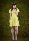 Vintage Buttercup of Tea Dress