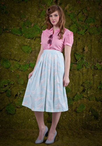 Vintage Free and Breezy Skirt