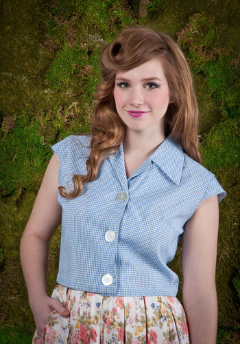Vintage Country Me In Top