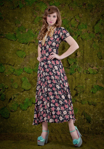 Vintage Primrose to the Occasion Dress