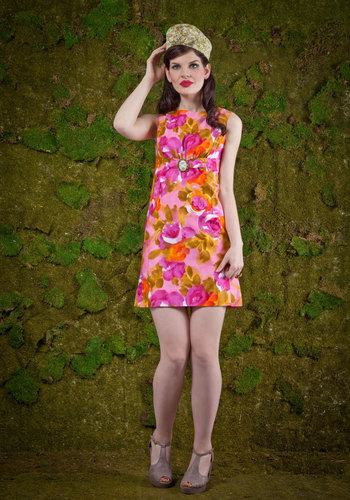Vintage Life in the Fun Lane Dress