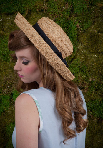 Vintage Beautiful Day for Boating Hat