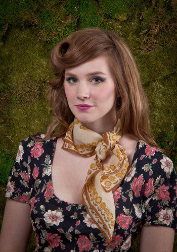 Vintage Twists and Turns Scarf