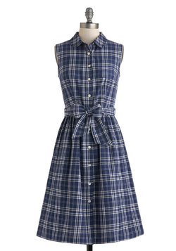 Plaid a Good Time Dress
