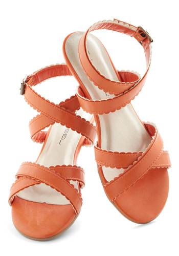 Carrot Crop Sandal
