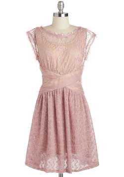 A Laud of Love Dress in Dusty Rose