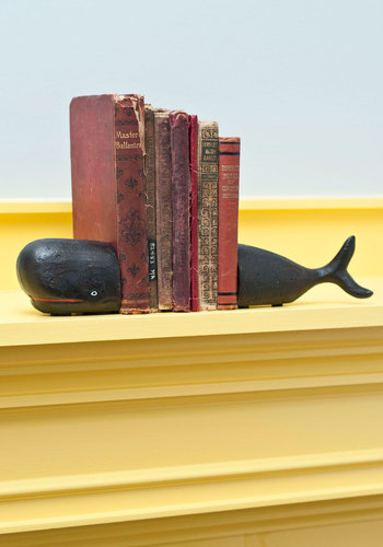 Start to Fin Bookends - Black, Nautical, Dorm Decor, Better, Critters, Top Rated