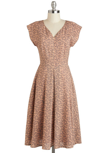 Mauve to the Country Dress