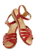Huge Hugs Sandal in Red