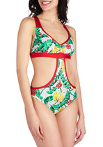 On Island Time Monokini