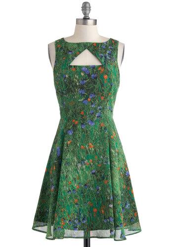 Slideshow and Tell Dress