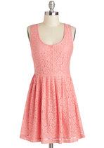 Cheer and Dear Dress in Pink