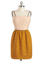Eat, Drink, and Be Marigold Dress