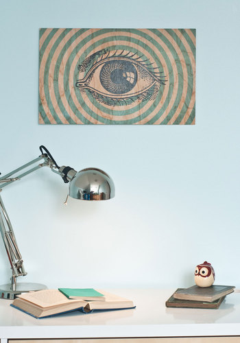 Sight for Bored Eyes Print - Blue, Print, Eco-Friendly