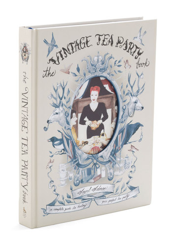 The Vintage Tea Party Book - Cream