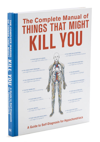 The Complete Manual of Things That Might Kill You by Knock Knock - Travel, Good