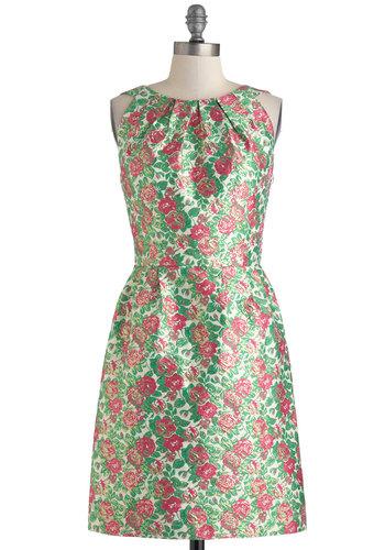 Floral Arrangement Artist Dress