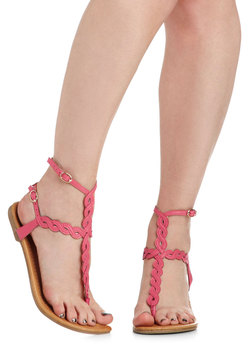 Twisting Pathways Sandal