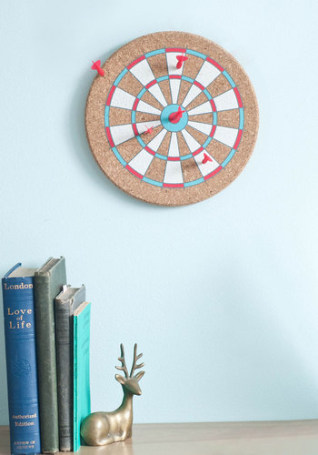 Dart Project Message Board by Kikkerland - Multi, Dorm Decor, Graduation, Good