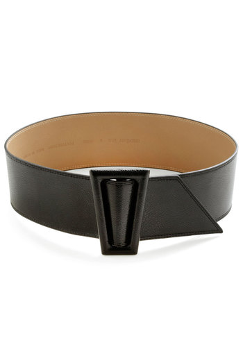 Disco with It Belt - Black, Solid, Mod, Faux Leather, Vintage Inspired, 60s, 70s