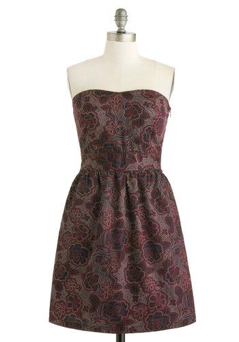Pointillism of View Dress