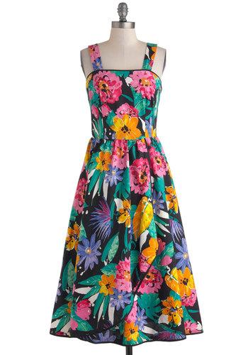 Vintage Shuffle, Hop, Pep Dress