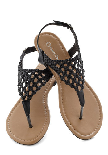 Be-Weave What You See Sandal