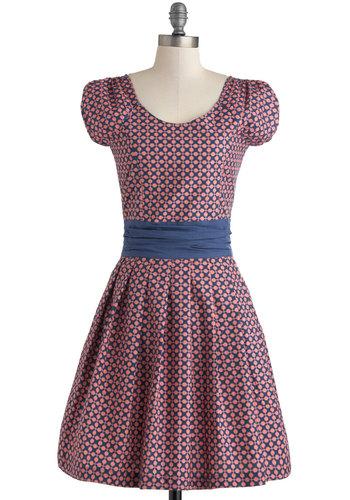 Dot to Get Going Dress