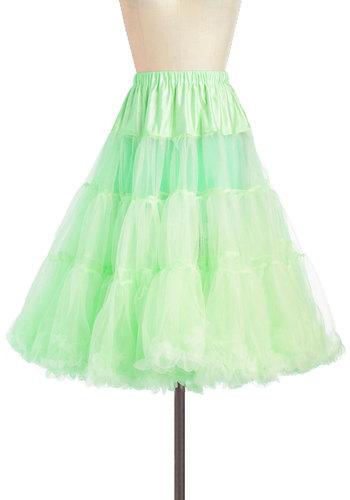 Va Va Voluminous Petticoat in Mint