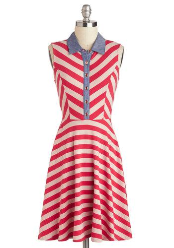 In the Mast Lane Dress