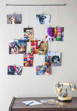 Picture Frame and Glory Photo Hanger