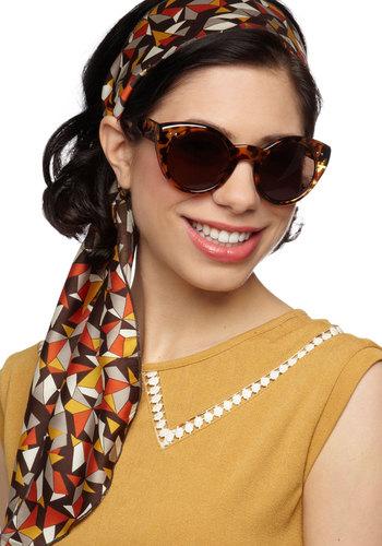 Celeb Status Sunglasses - Brown, Luxe, Statement, International Designer, Animal Print, Rockabilly, Pinup, Vintage Inspired, 40s, 50s, Summer