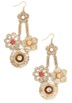 Fancy Flourish Earrings