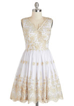 Champagne Toast To You Dress from ModCloth - $79.99 #affiliate