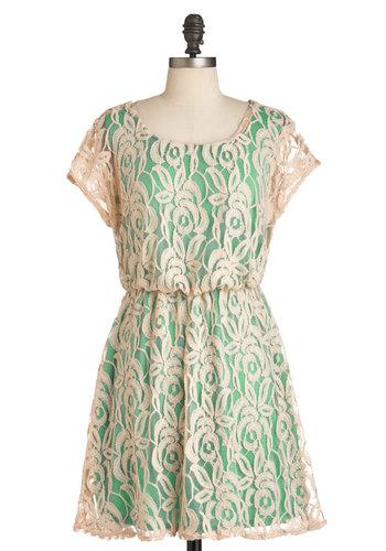 Between Me and Ecru Dress