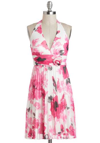 Haute Pink Bouquet Dress