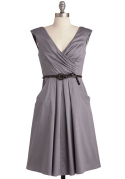 Occasion by Me Dress in Charcoal