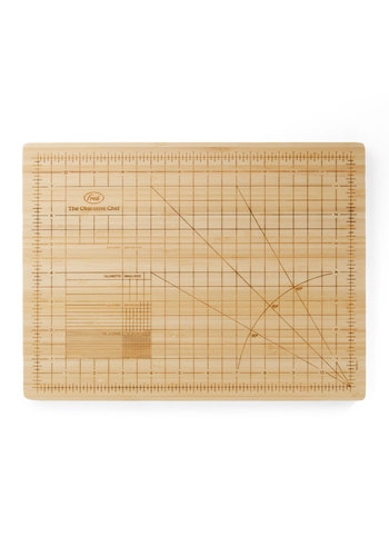 Be Pre-slice Cutting Board by Fred - Cream, Handmade & DIY, Scholastic/Collegiate