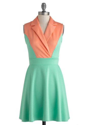 Mellow in Melon Dress